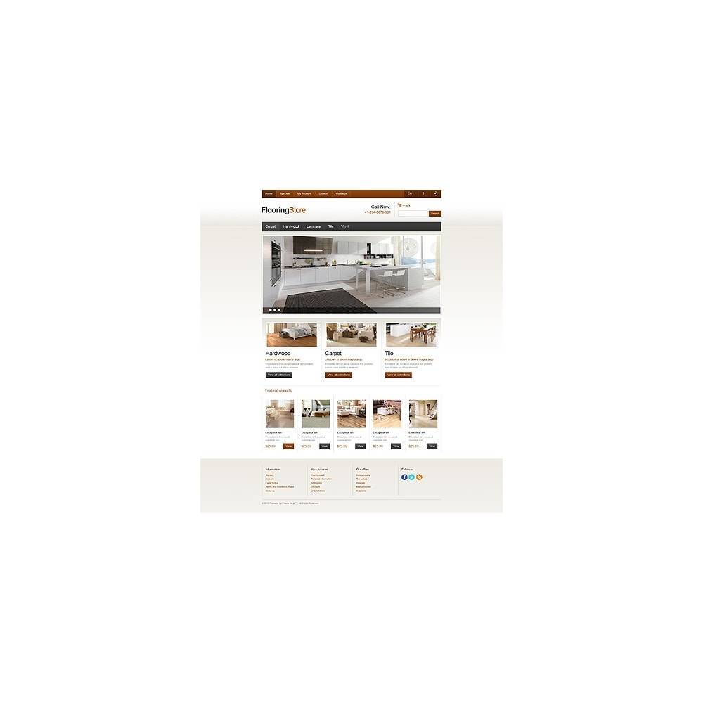 theme - Art & Culture - Responsive Flooring Store - 11