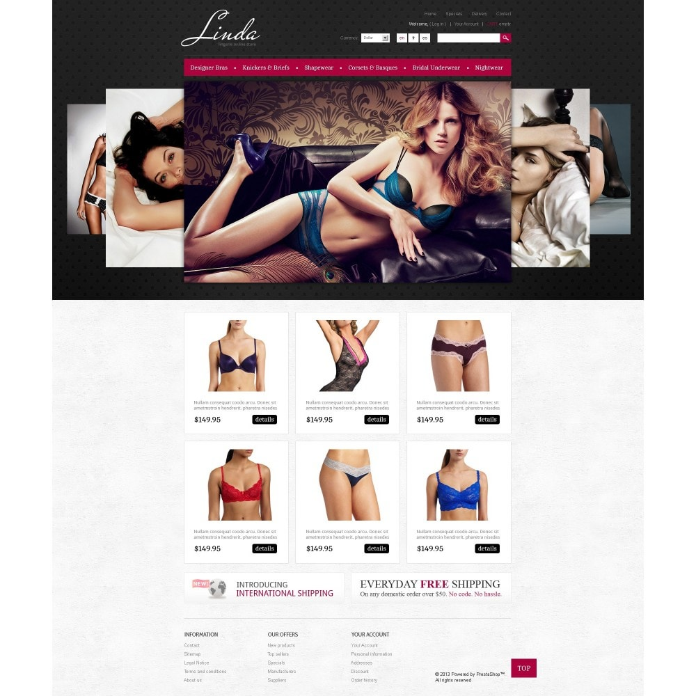 theme - Mode & Schuhe - Lingerie for Seduction - 3