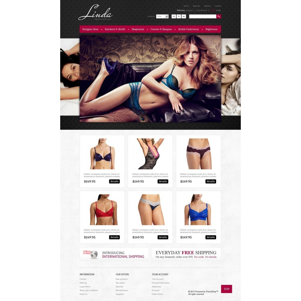 theme - Mode & Schuhe - Lingerie for Seduction - 5