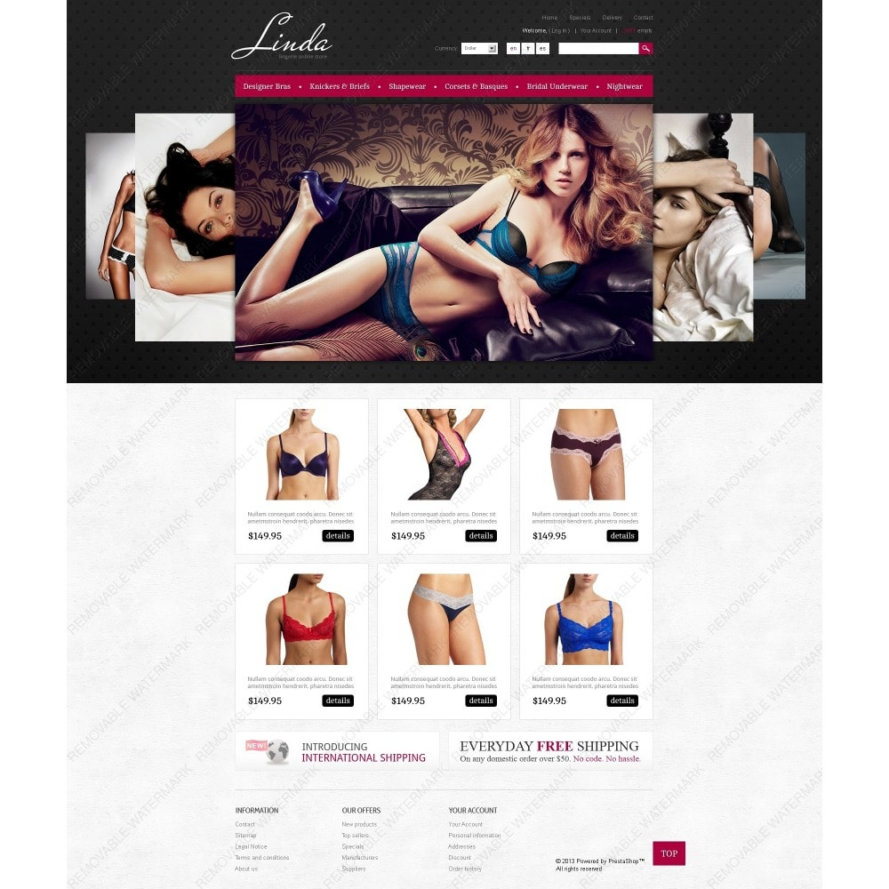 theme - Mode & Schuhe - Lingerie for Seduction - 7