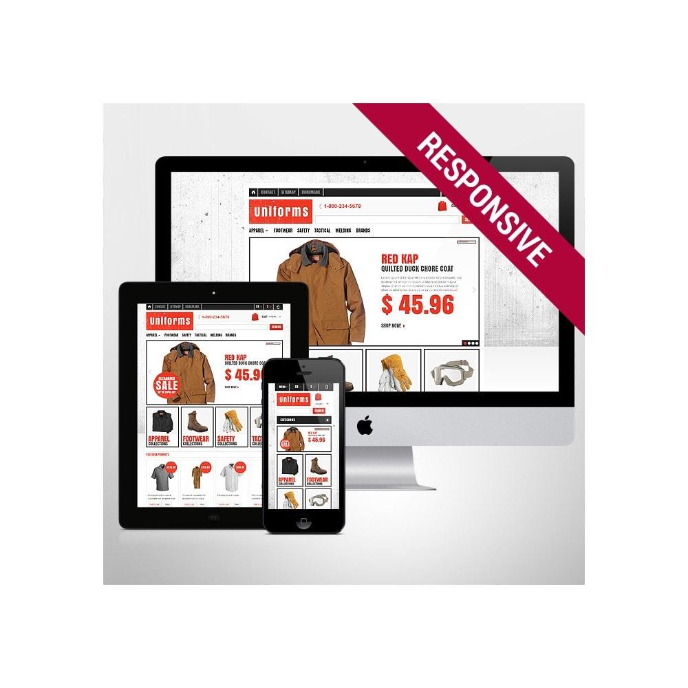 theme - Moda y Calzado - Responsive Uniforms Store - 1