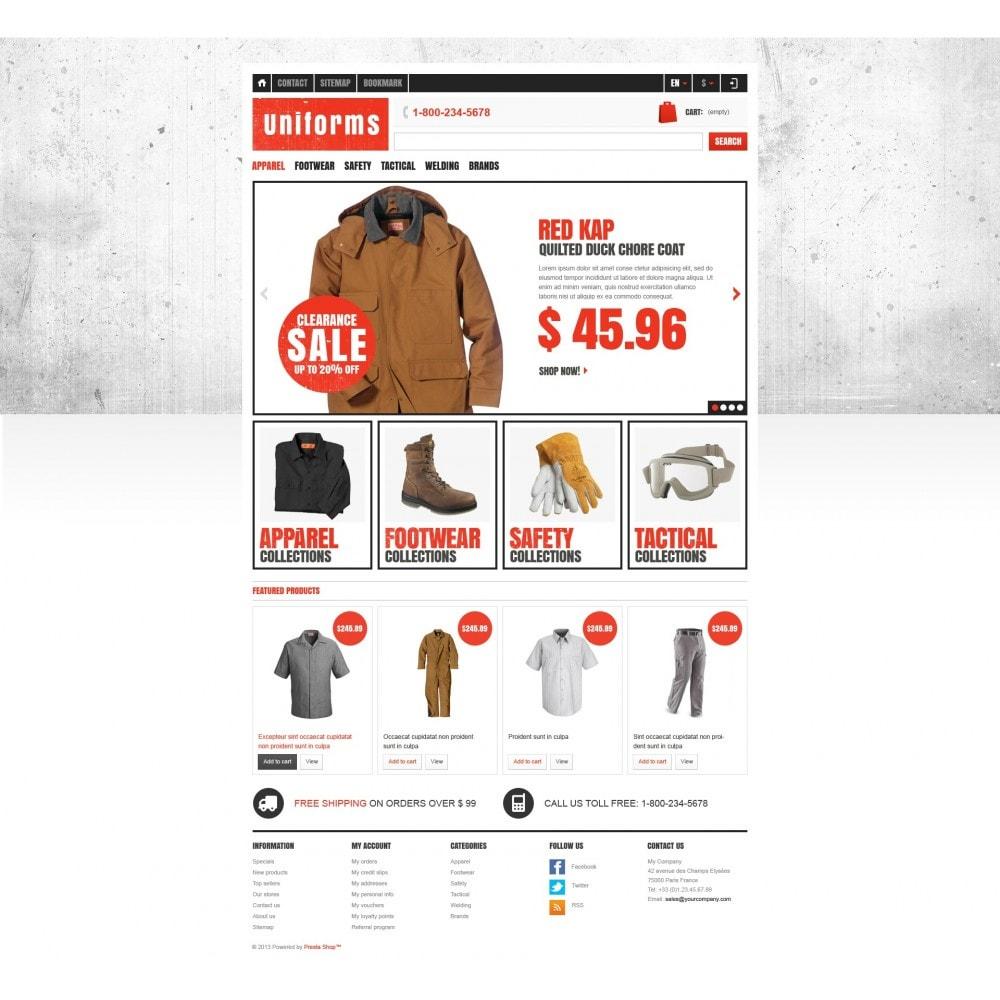 theme - Moda y Calzado - Responsive Uniforms Store - 4