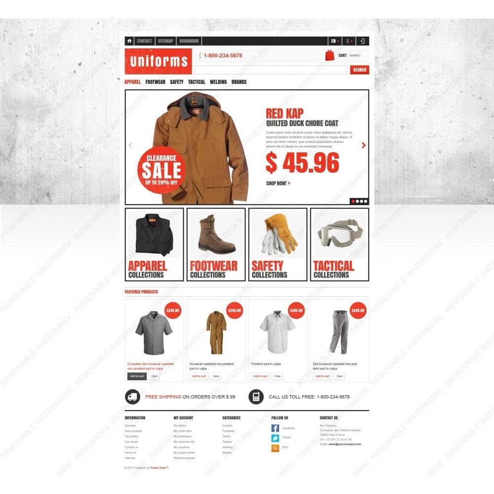 theme - Moda y Calzado - Responsive Uniforms Store - 6