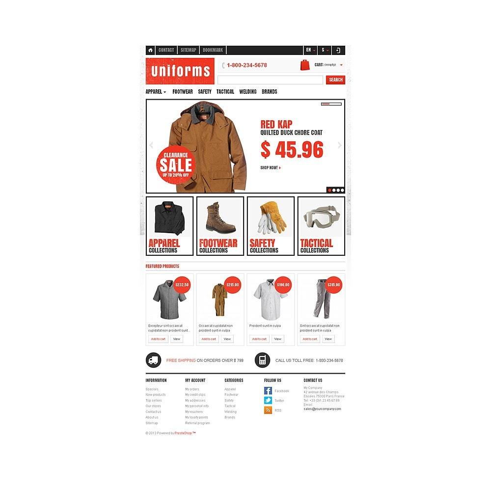 theme - Moda y Calzado - Responsive Uniforms Store - 8