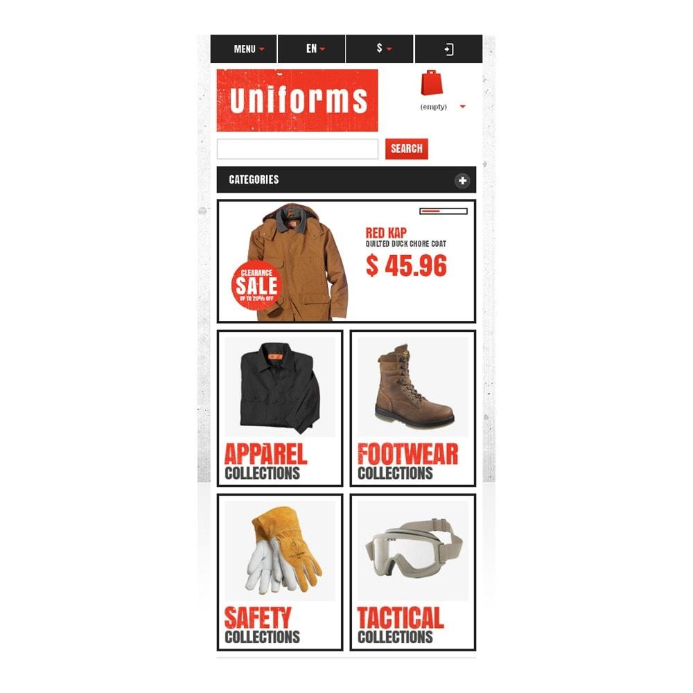 theme - Moda y Calzado - Responsive Uniforms Store - 9