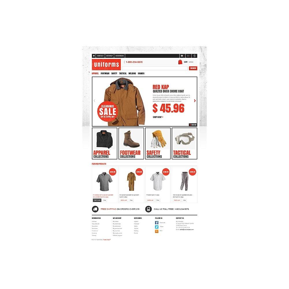 theme - Moda y Calzado - Responsive Uniforms Store - 11