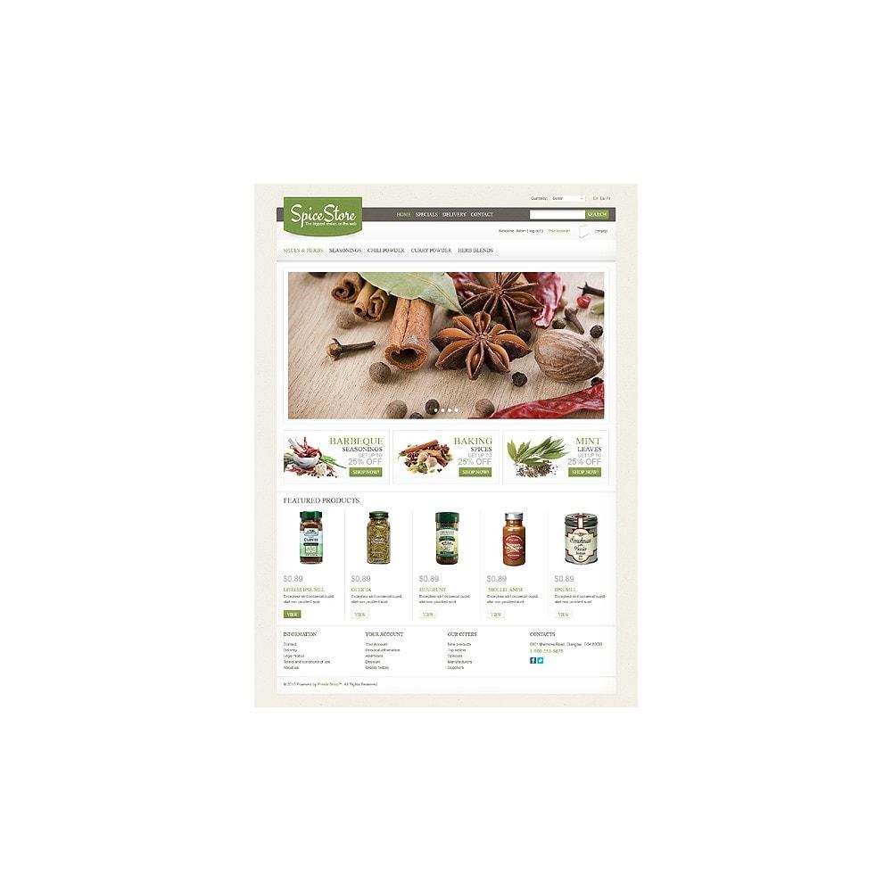 theme - Lebensmittel & Restaurants - Spice Store - 1