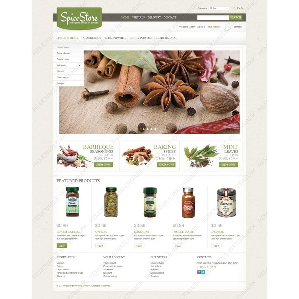 theme - Lebensmittel & Restaurants - Spice Store - 2