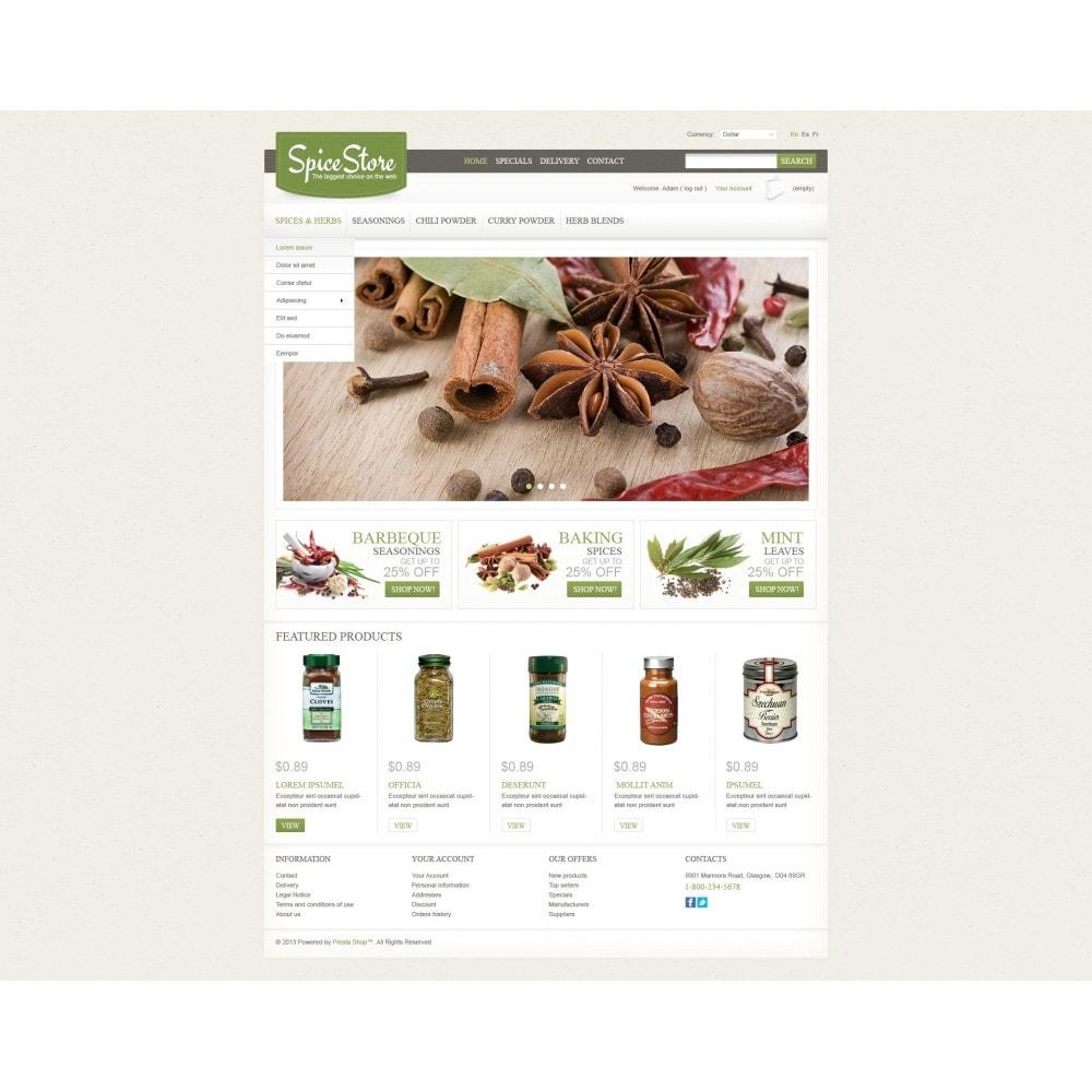 theme - Lebensmittel & Restaurants - Spice Store - 3