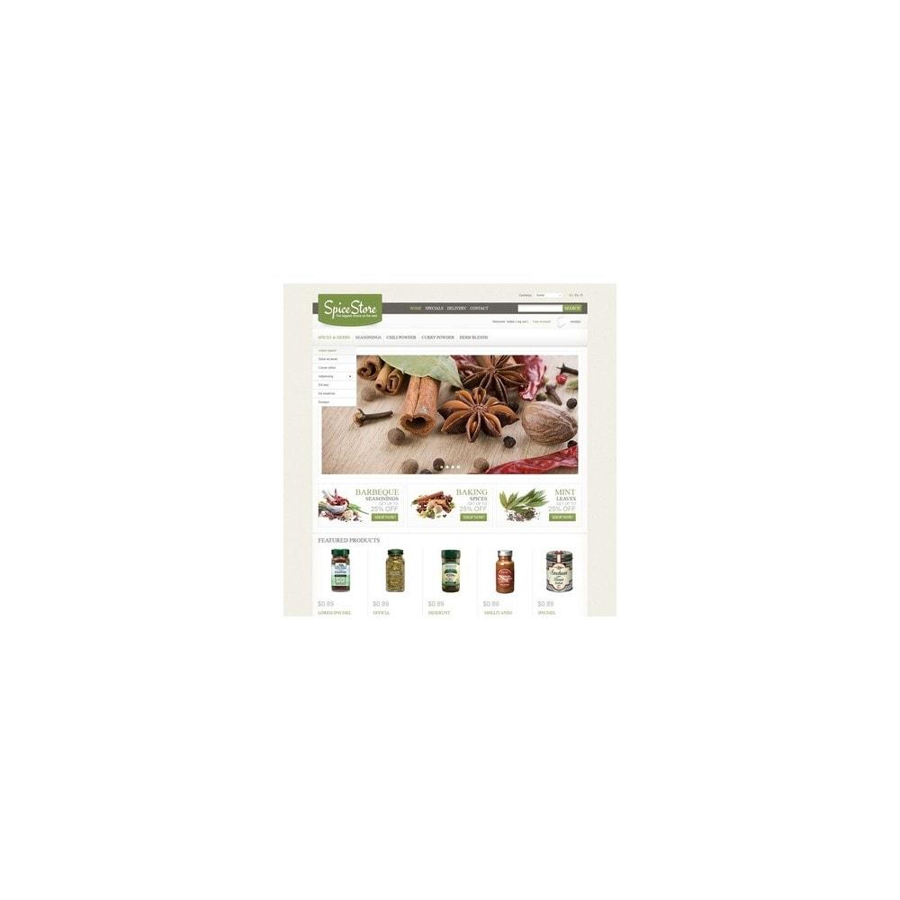 theme - Lebensmittel & Restaurants - Spice Store - 4