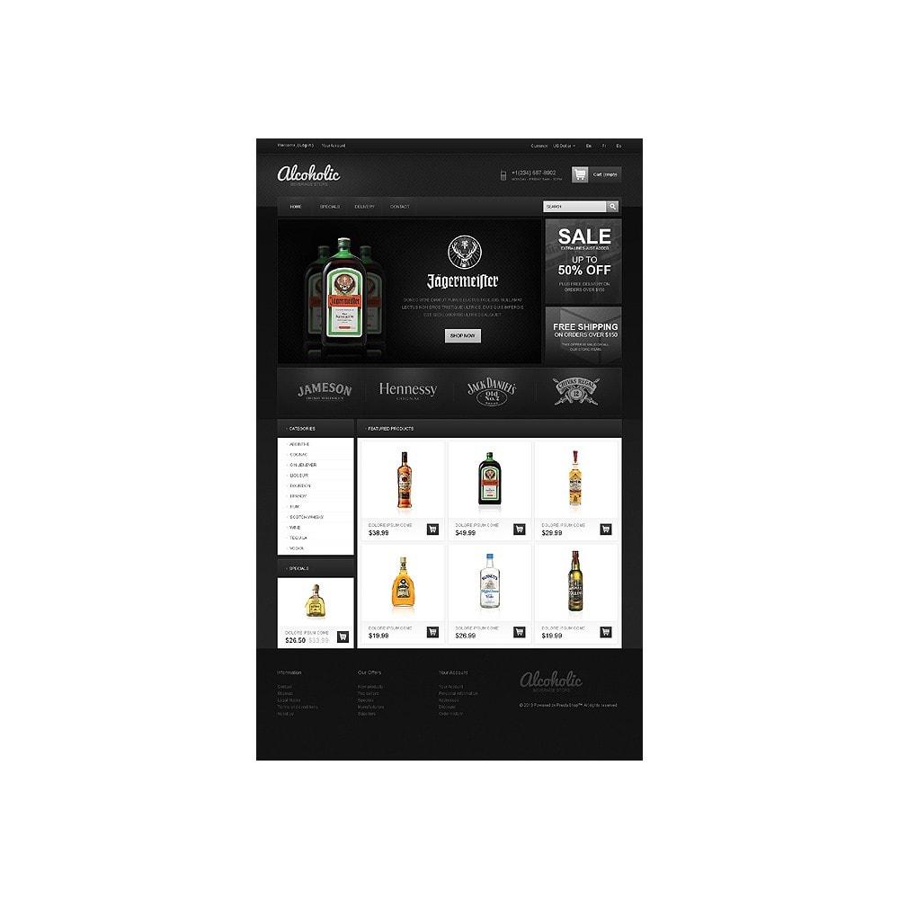 theme - Alimentos & Restaurantes - Alcoholic Beverage Store - 1