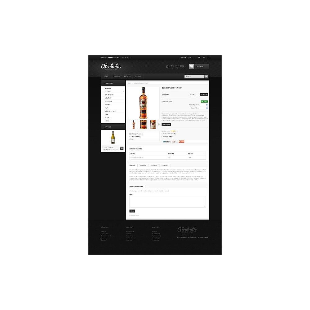 theme - Alimentos & Restaurantes - Alcoholic Beverage Store - 6