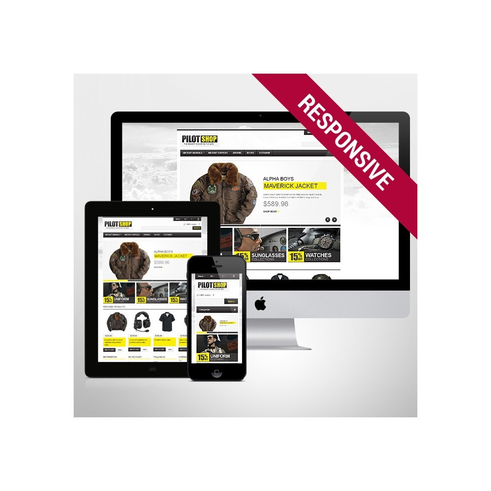 theme - Mode & Schoenen - Responsive Pilot Shop - 1