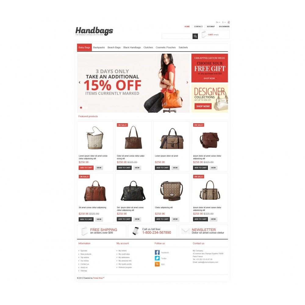 theme - Mode & Schoenen - Responsive Handbags Store - 4