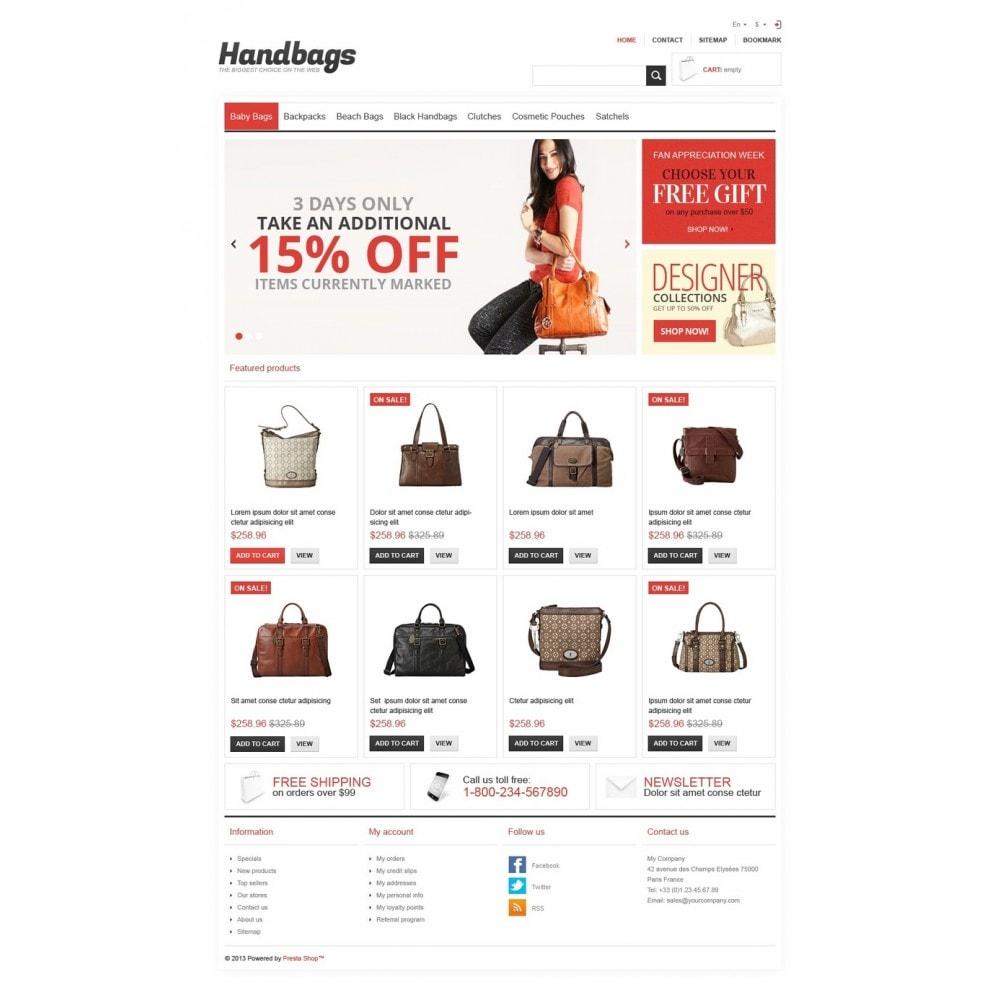 theme - Mode & Schoenen - Responsive Handbags Store - 5