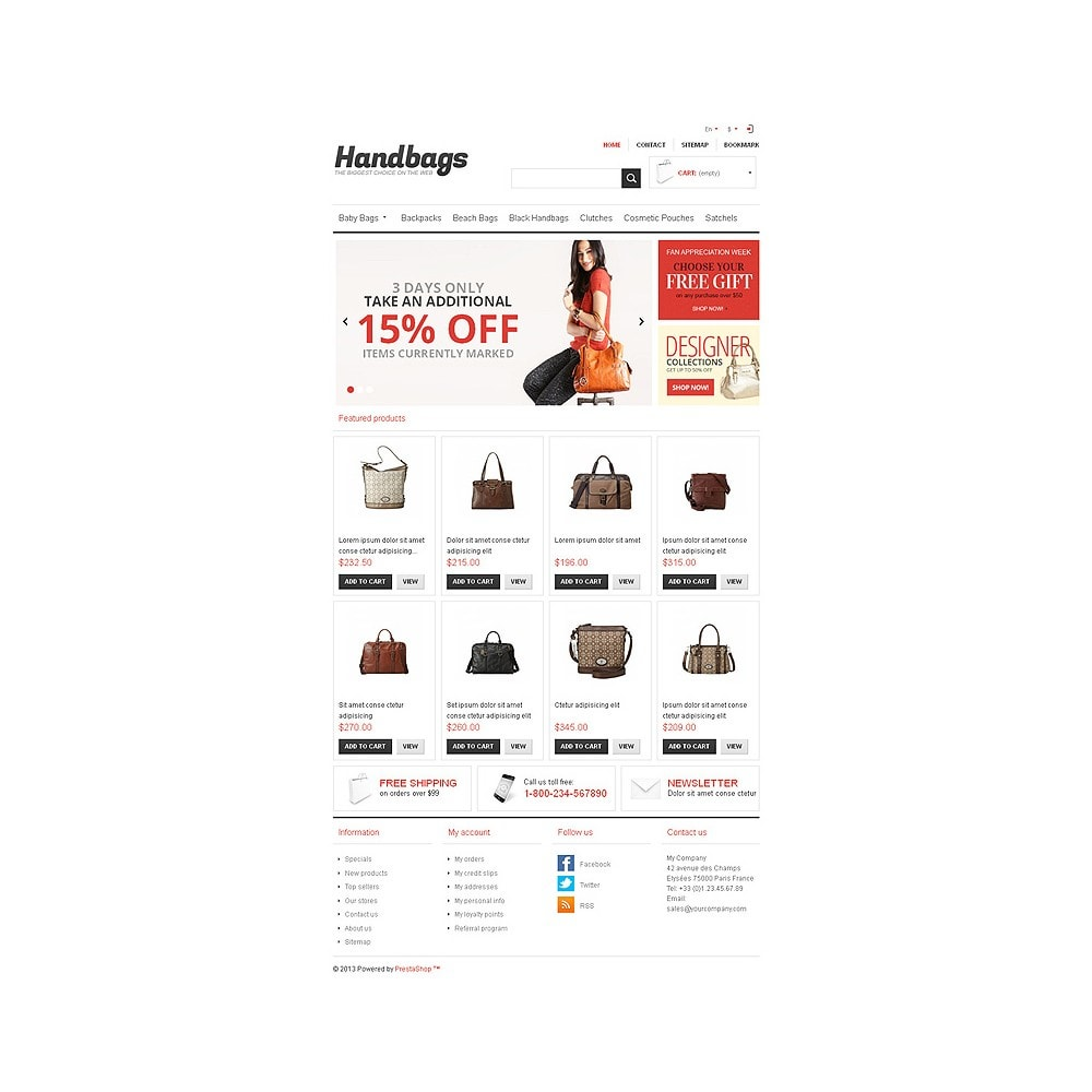 theme - Mode & Schoenen - Responsive Handbags Store - 8