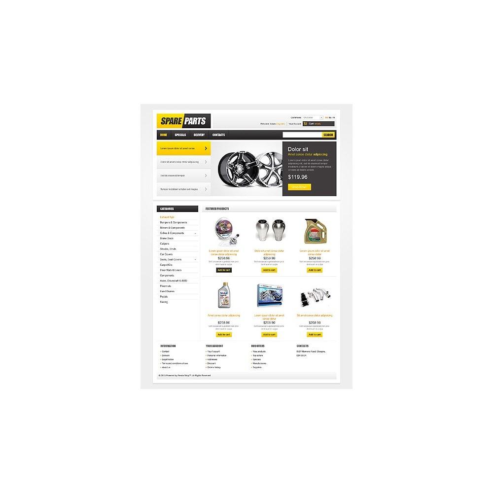 theme - Carros & Motos - Spare Parts - 1
