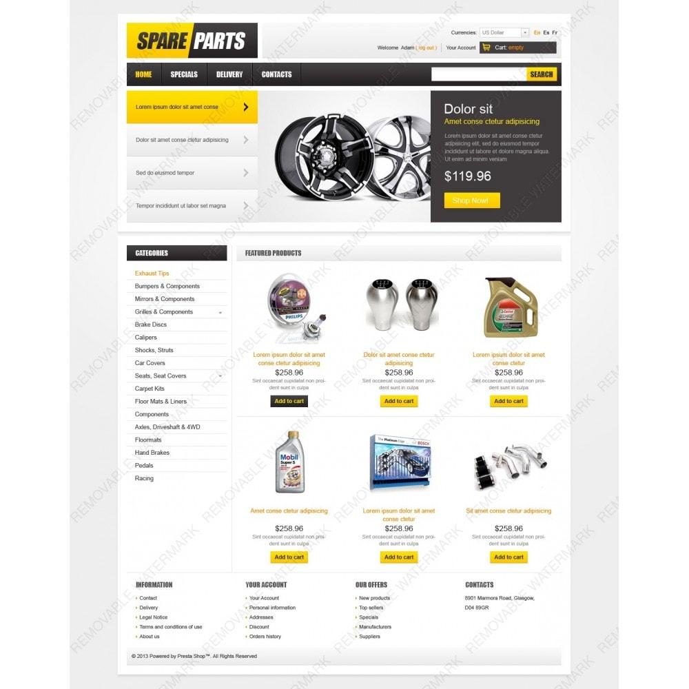 theme - Carros & Motos - Spare Parts - 2