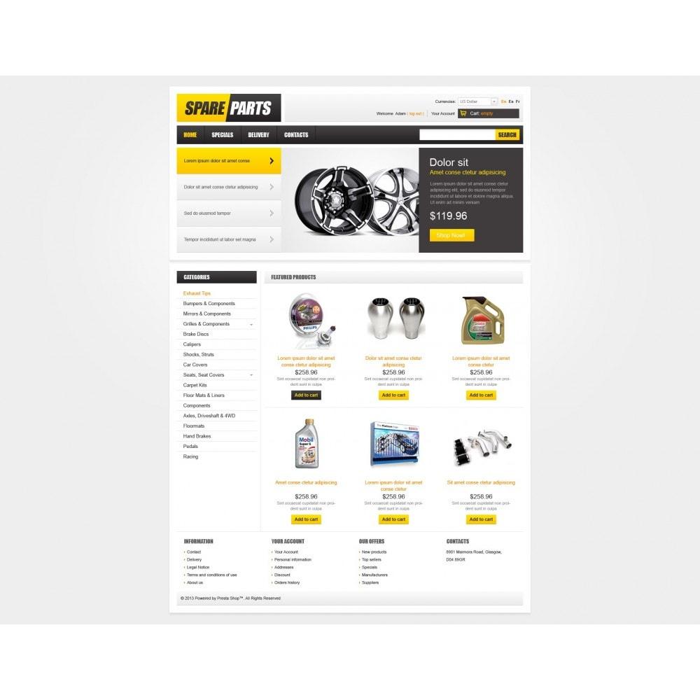 theme - Carros & Motos - Spare Parts - 3