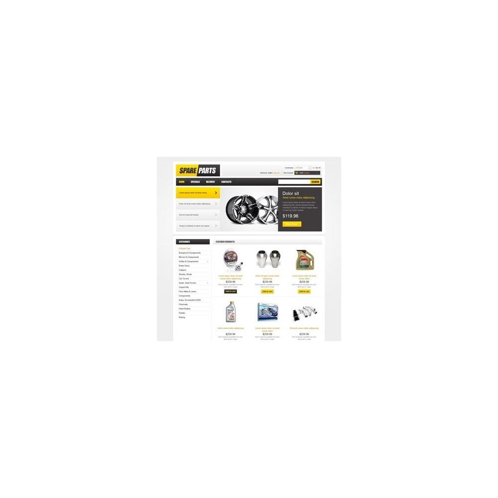 theme - Carros & Motos - Spare Parts - 4
