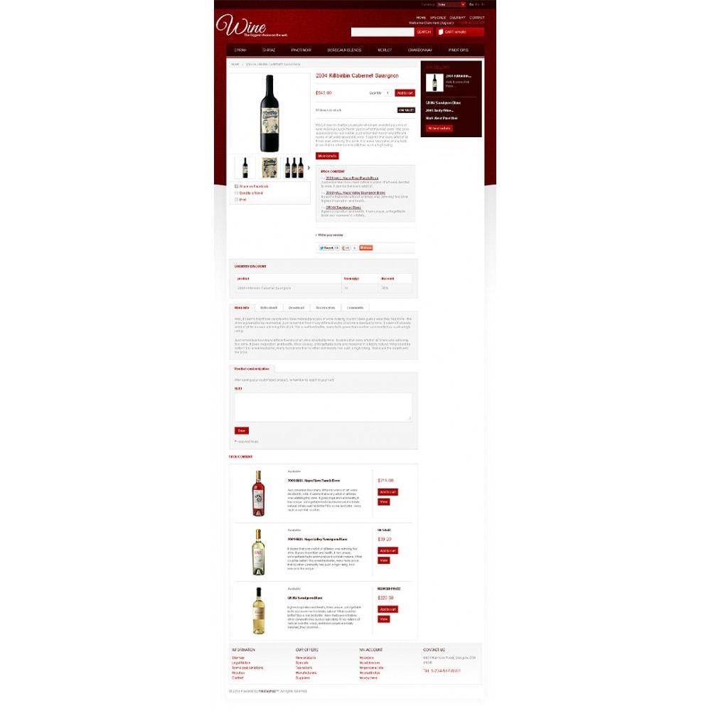 theme - Food & Restaurant - Wine Store - 6