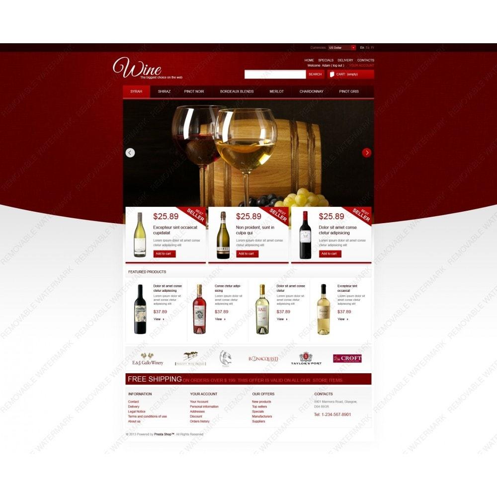 theme - Food & Restaurant - Wine Store - 7