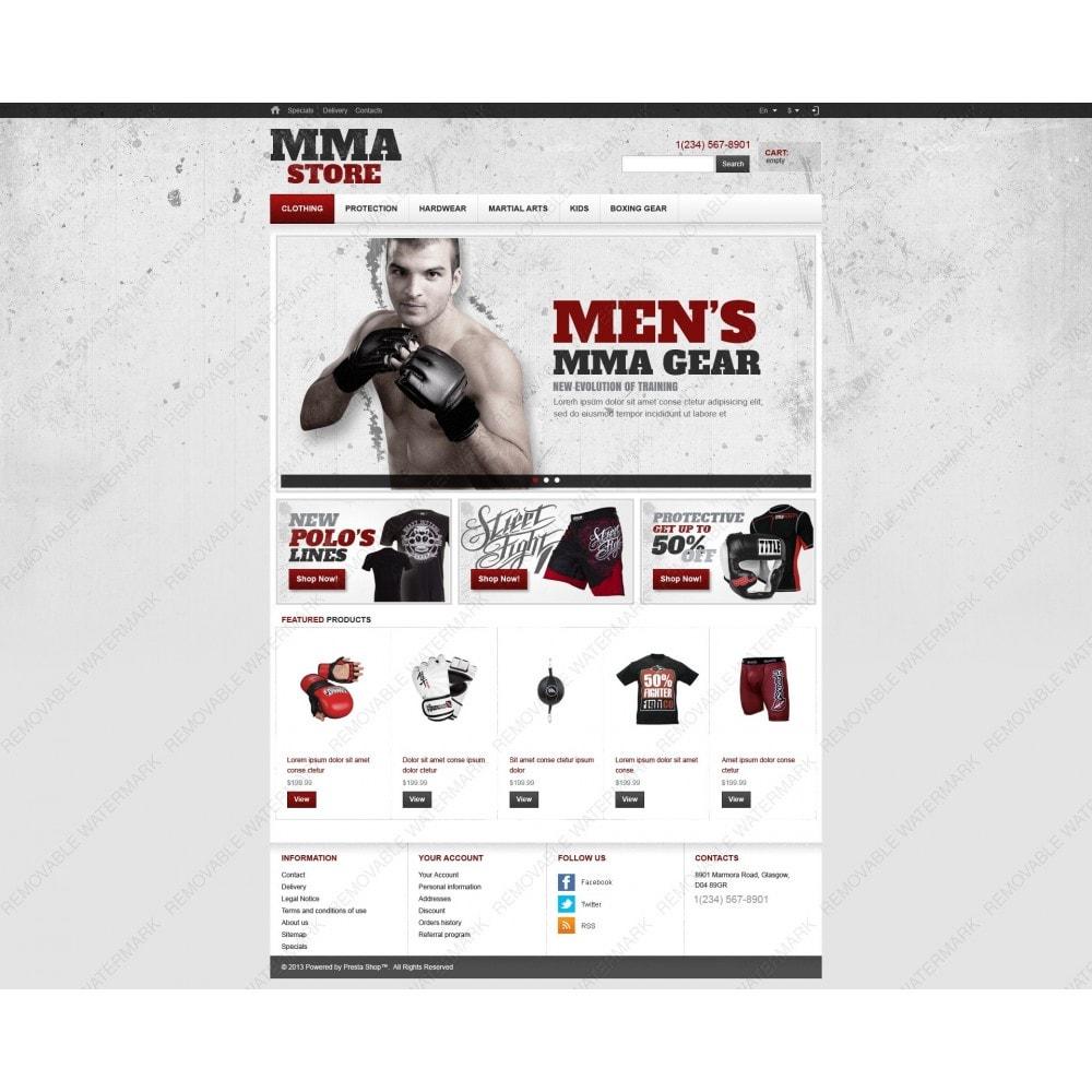 theme - Deportes, Actividades y Viajes - Martial Arts Store - 6