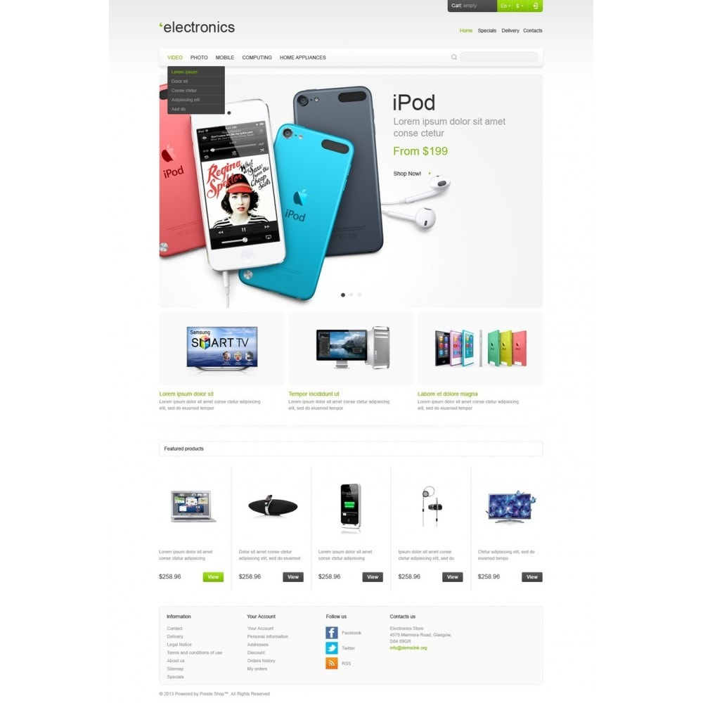 theme - Elektronica & High Tech - Responsive Electronics Store - 5