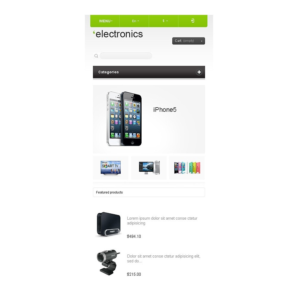 theme - Electronics & Computers - Responsive Electronics Store - 9