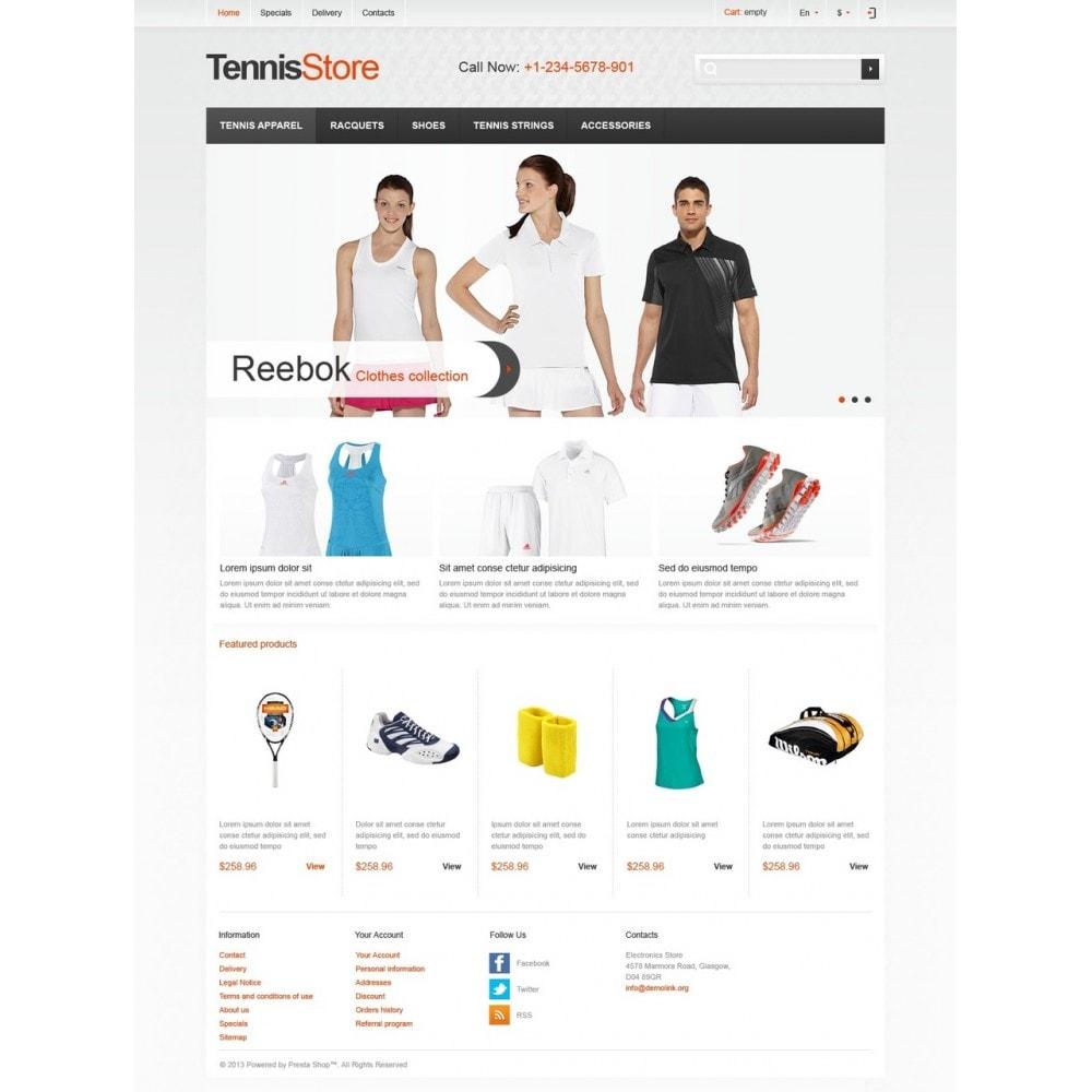 theme - Sport, Attività & Viaggi - Responsive Tennis Store - 5
