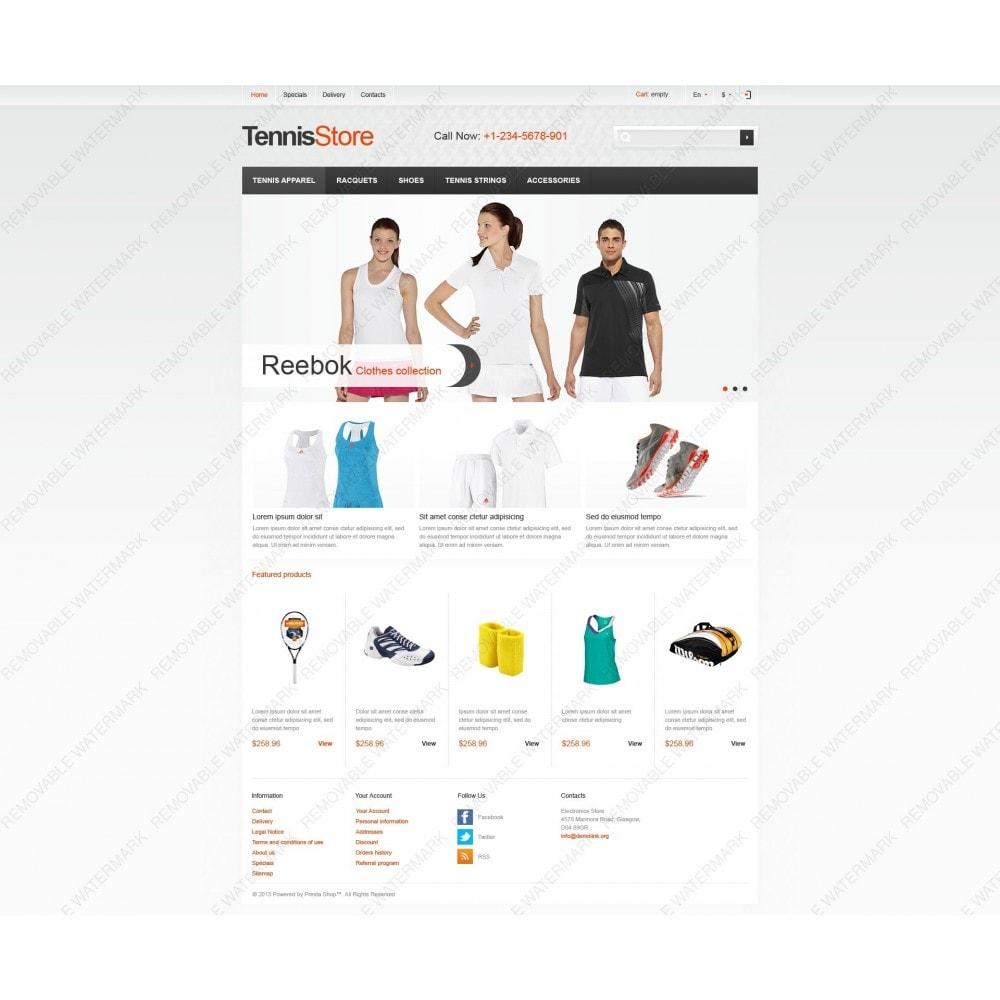 theme - Sport, Attività & Viaggi - Responsive Tennis Store - 6