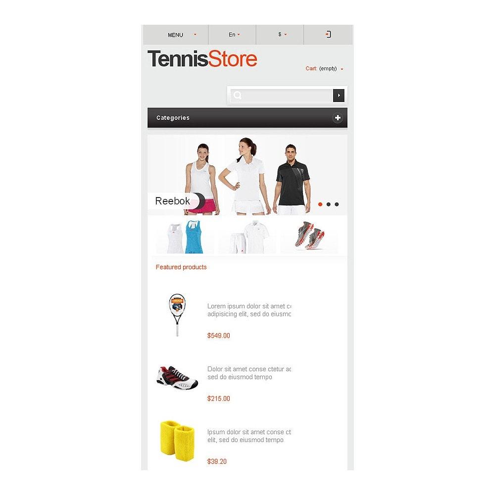 theme - Sports, Activities & Travel - Responsive Tennis Store - 9