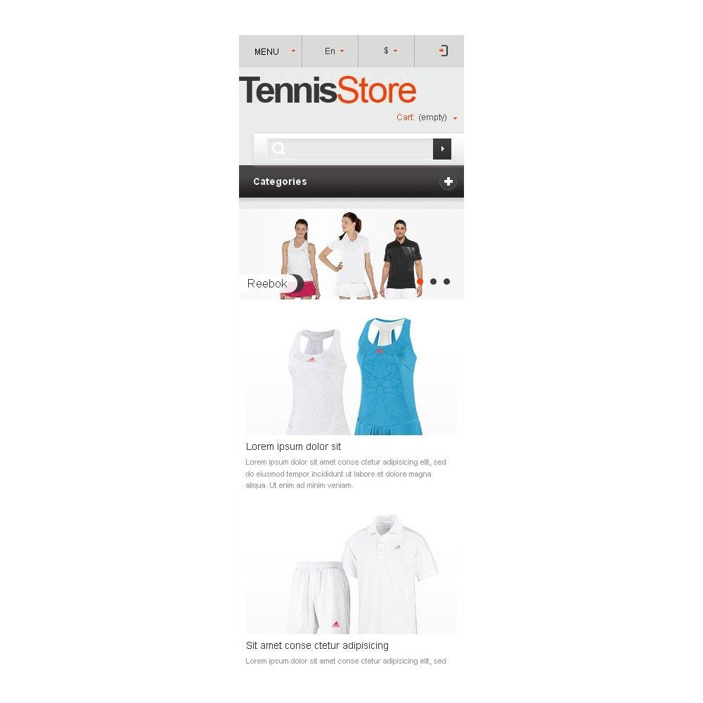 theme - Sport, Attività & Viaggi - Responsive Tennis Store - 10