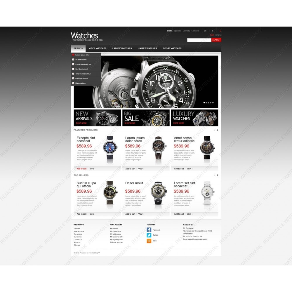 theme - Mode & Chaussures - Wrist Watch Store - 6
