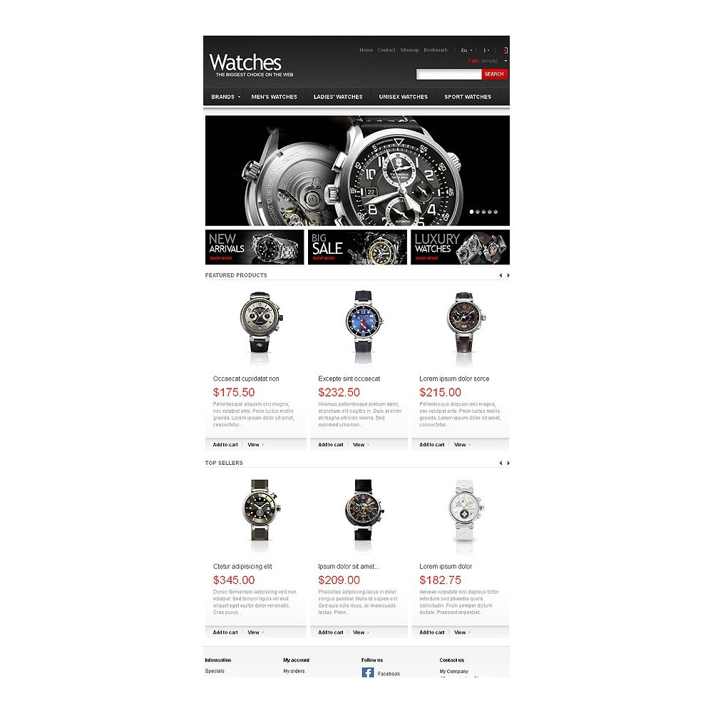 theme - Mode & Chaussures - Wrist Watch Store - 8