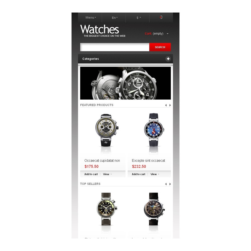 theme - Mode & Chaussures - Wrist Watch Store - 9