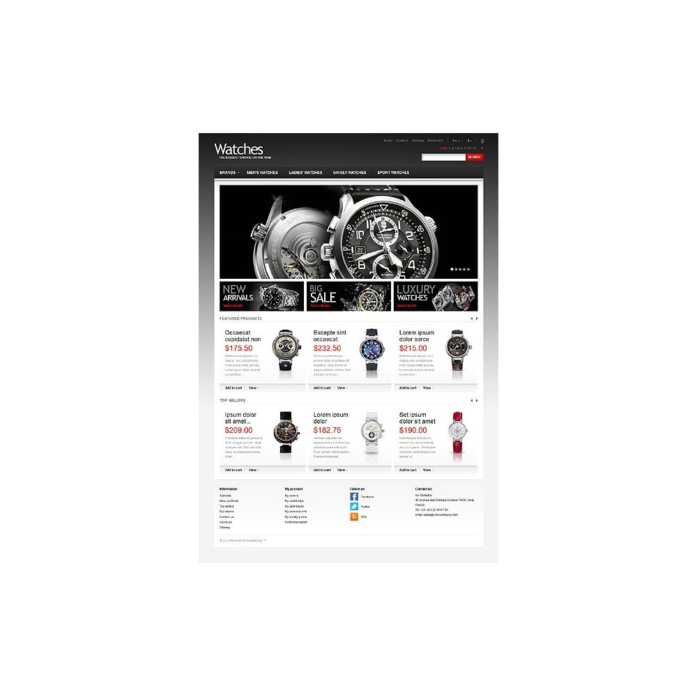 theme - Mode & Chaussures - Wrist Watch Store - 11