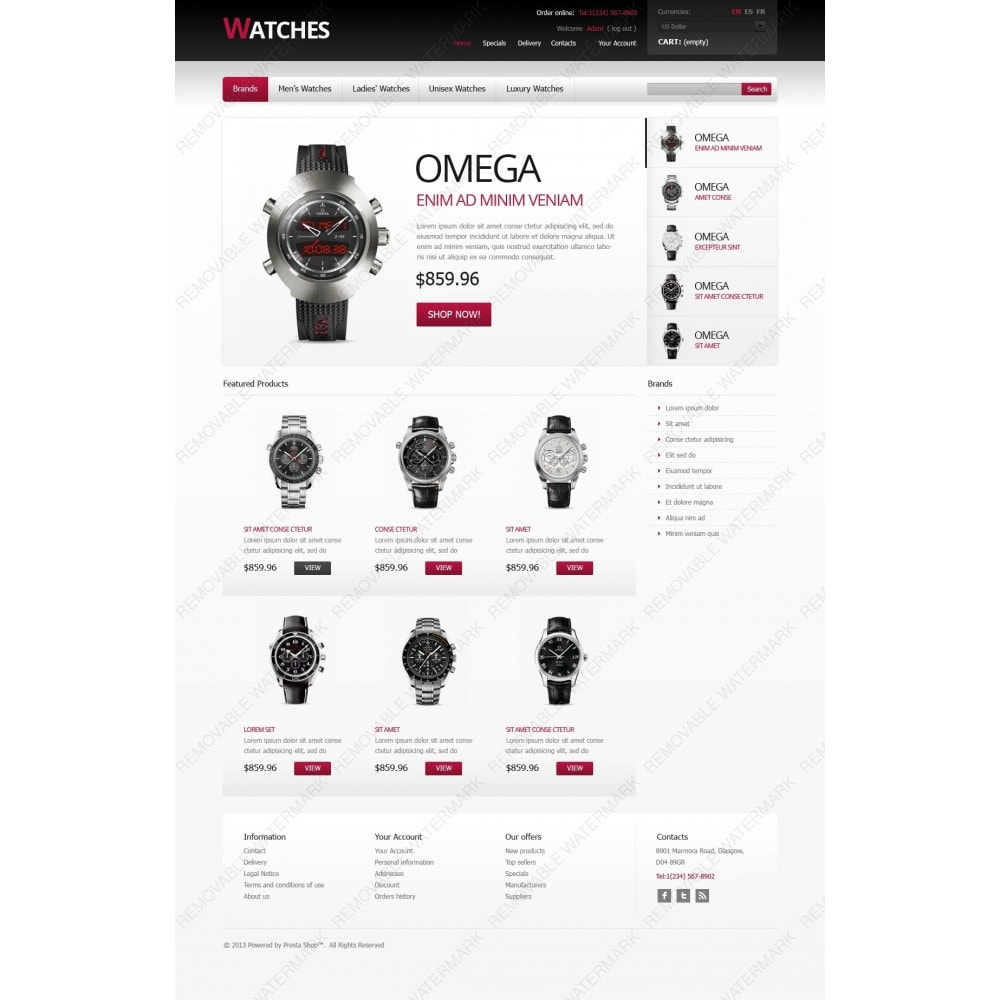 theme - Mode & Schuhe - Stylish Watches - 2