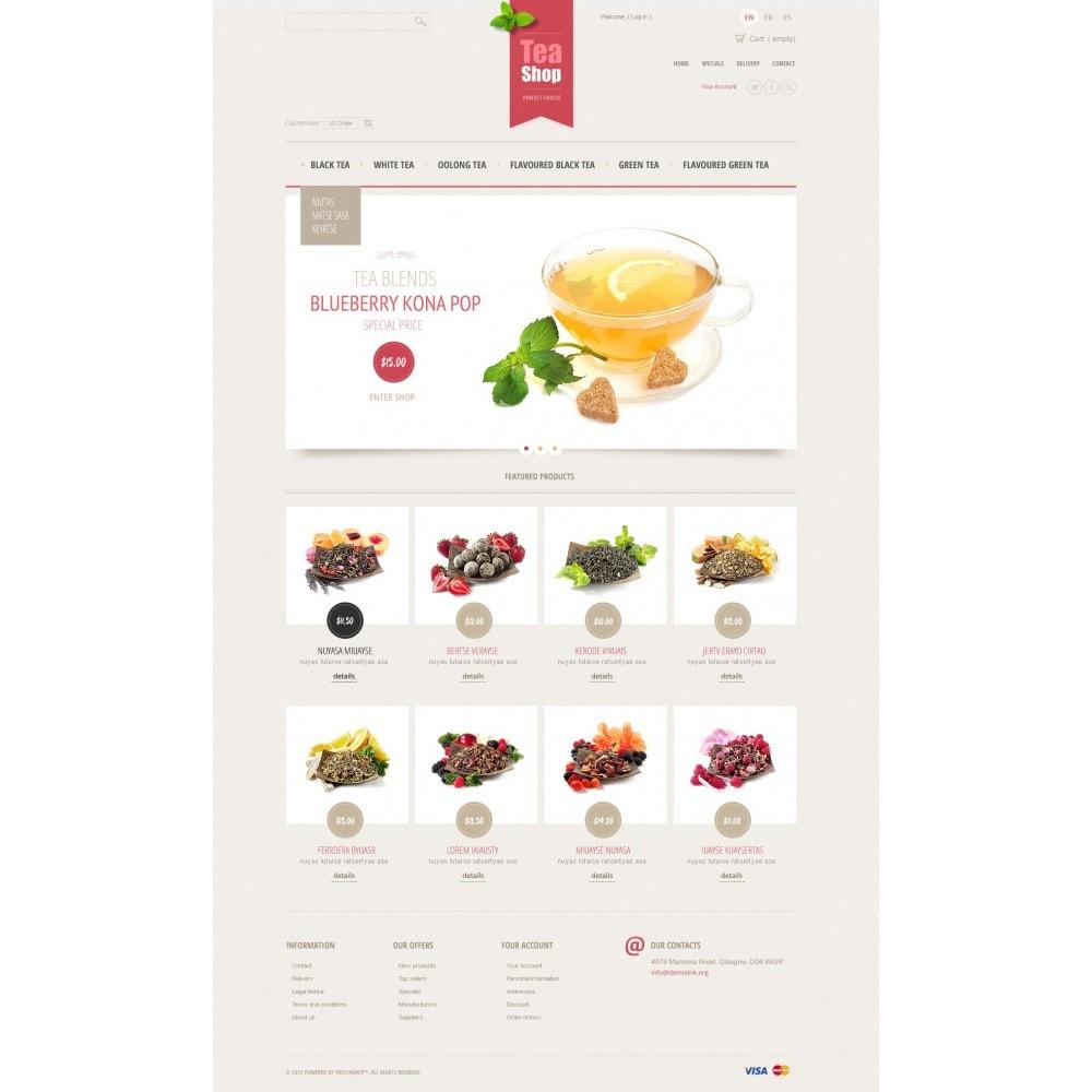 theme - Продовольствие и рестораны - Tea Shop - 3