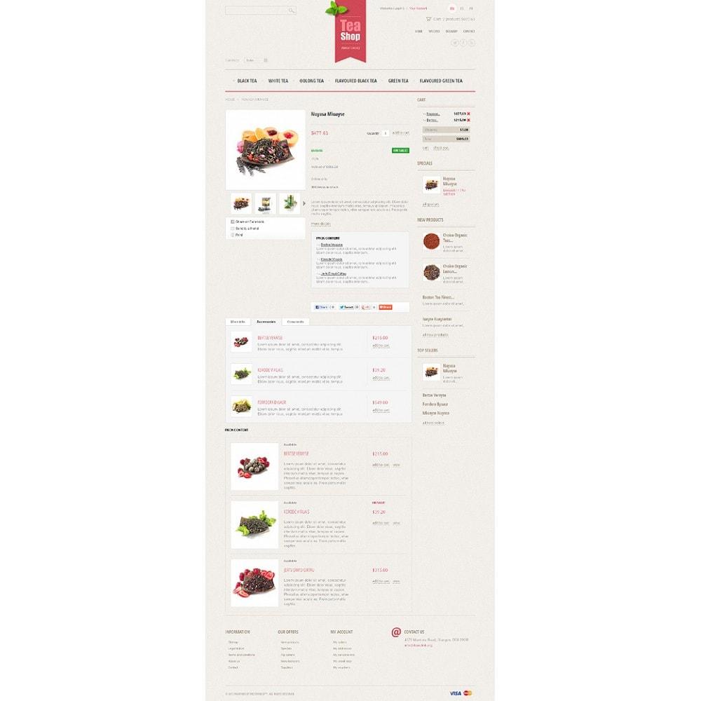 theme - Продовольствие и рестораны - Tea Shop - 6