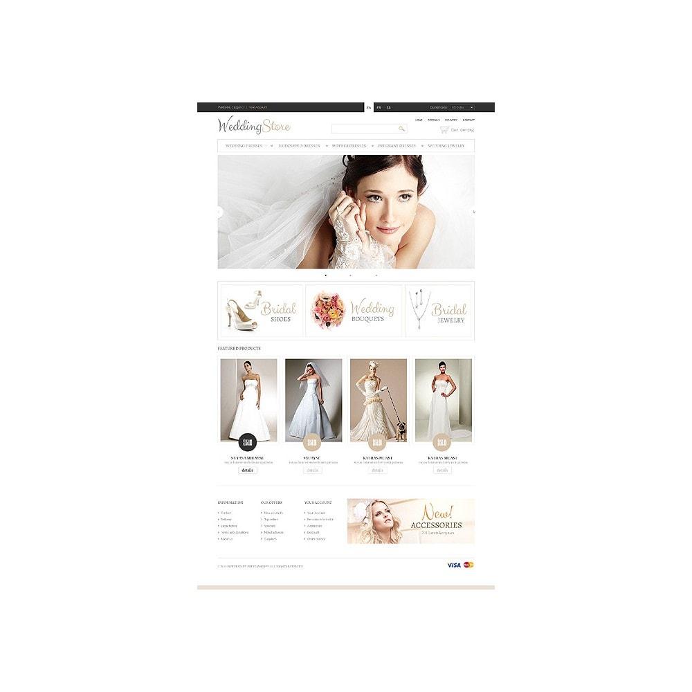 theme - Fashion & Shoes - Pretty Bride - 1