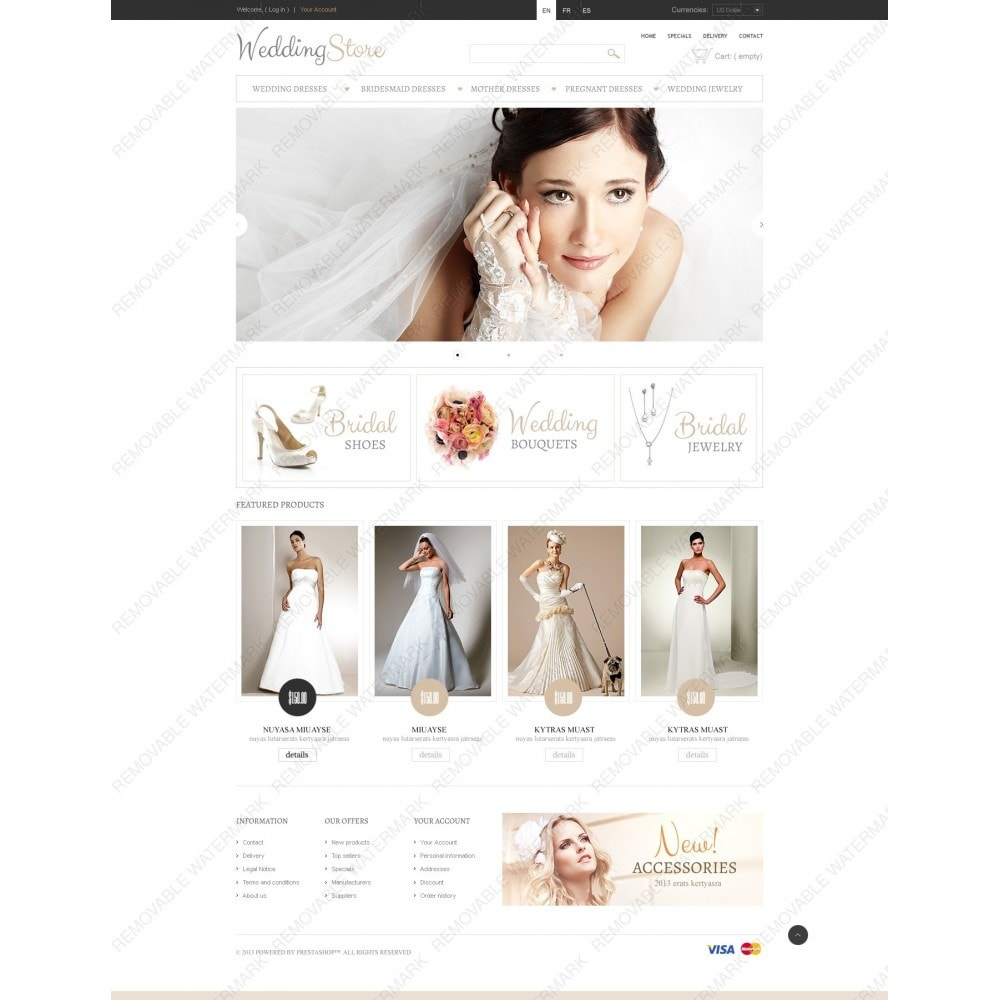 theme - Fashion & Shoes - Pretty Bride - 7