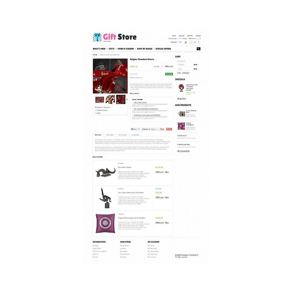 theme - Cadeaux, Fleurs et Fêtes - Gift Store - 6