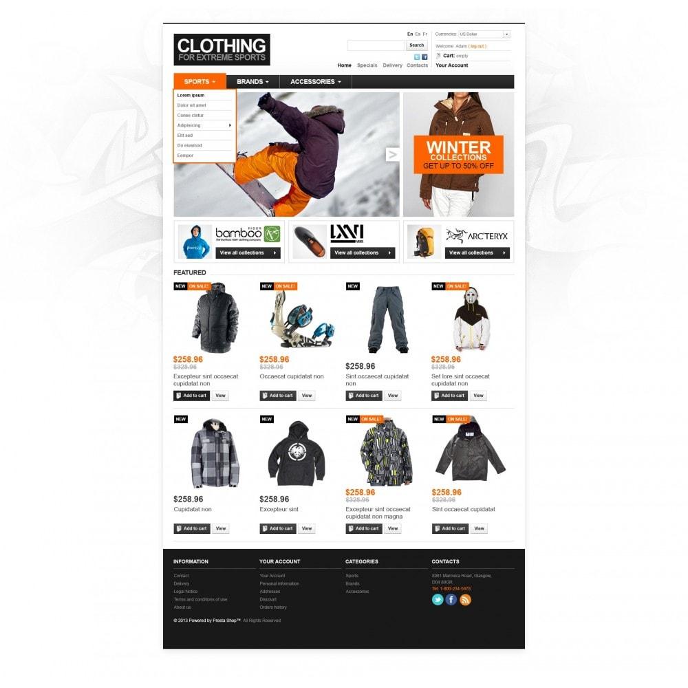theme - Mode & Schoenen - Extreme Sport Store - 3