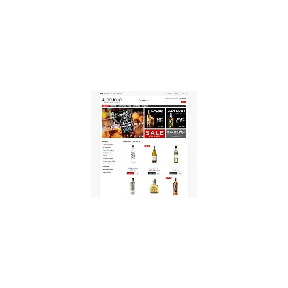 theme - Cibo & Ristorazione - Alcoholic Beverage Store - 4
