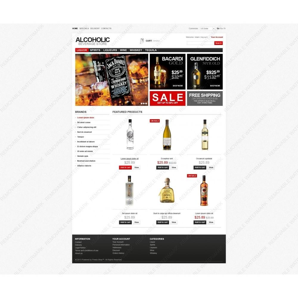 theme - Cibo & Ristorazione - Alcoholic Beverage Store - 5