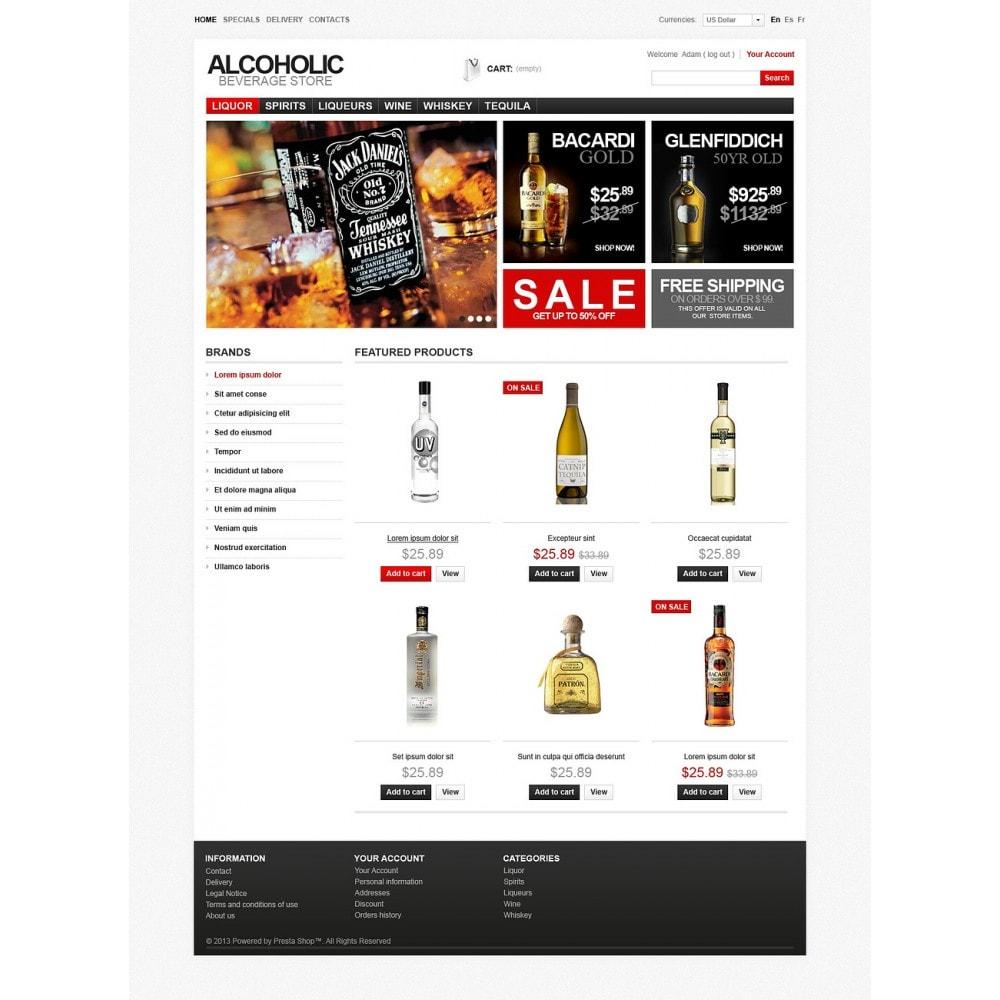 theme - Food & Restaurant - Alcoholic Beverage Store - 7