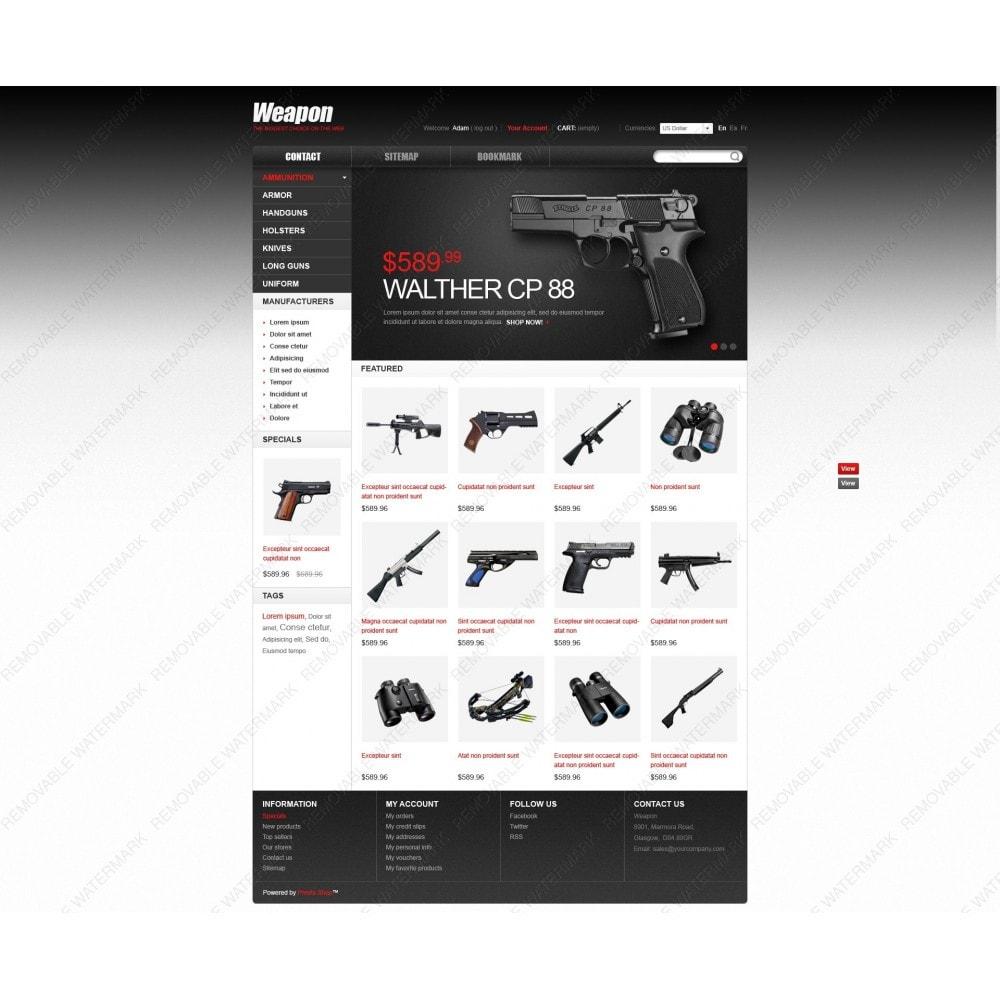 theme - Thèmes PrestaShop - Armes pour le sport et la sécurité - 7