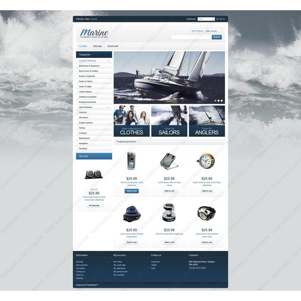 theme - Спорт и Путешествия - Marine Equipment - 7