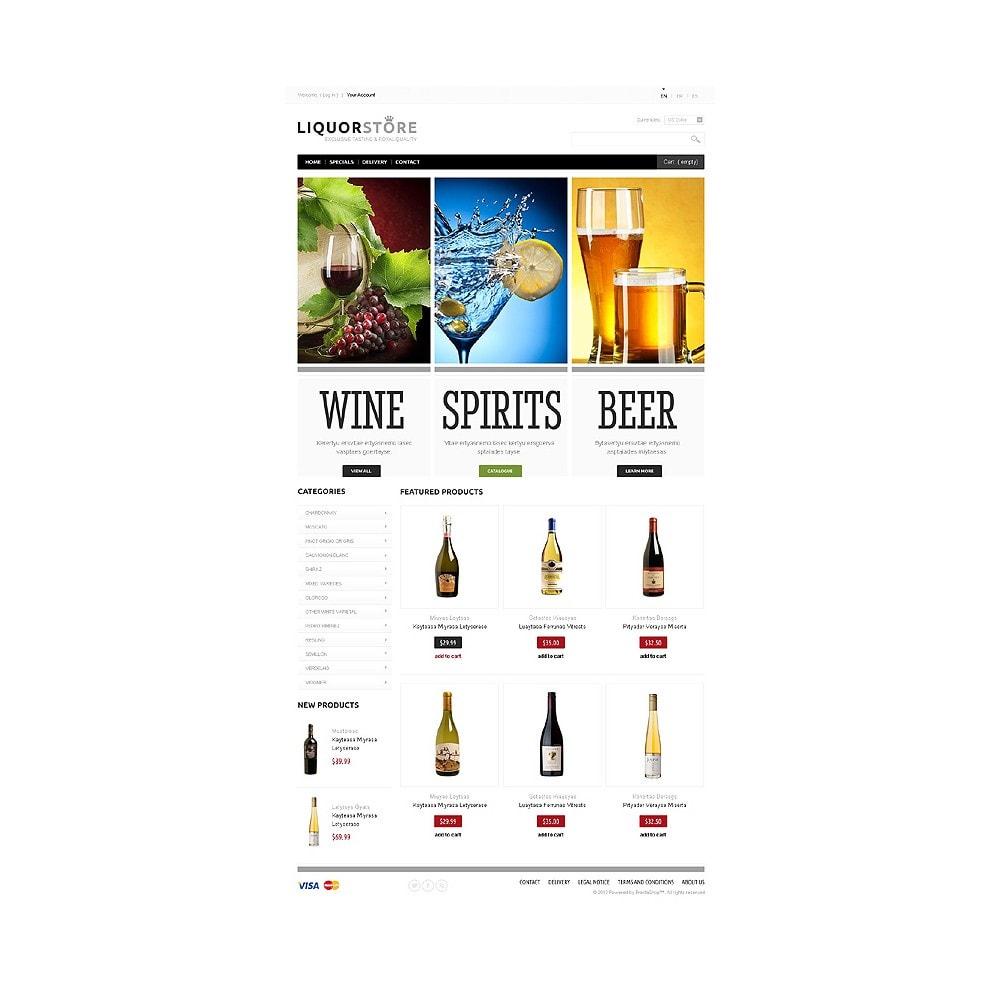theme - Cibo & Ristorazione - Alcoholic Beverages - 1